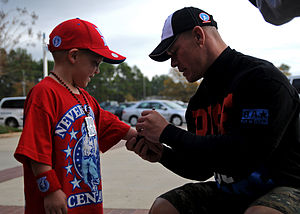 Cena meets one of the Cenation