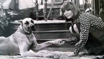 Diana Rigg &amp; Friend, 1973