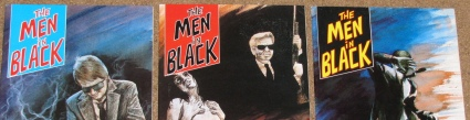 Set of the original Aircel Men In Black comics