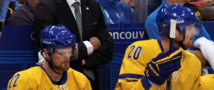 The Sedins playing for Sweden