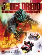 Judge Dredd Megazine 326 cover