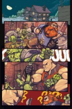 Skullkickers #18 sample page from Sitterson & Anya's story