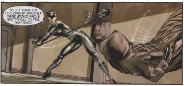 Catwoman fights Dollhouse