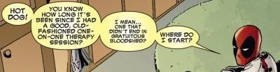 Deadpool in a Straitjacket
