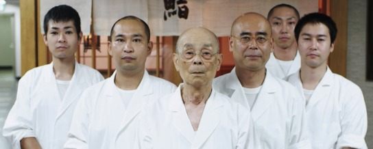 The staff of Sukiyabashi Jiro