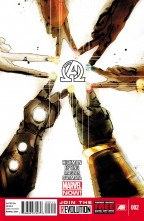 New Avengers #2 cover by Jock