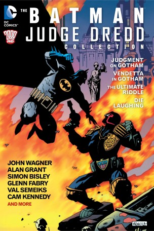 Batman Judge Dredd Collection cover