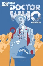 Doctor Who Color Classics #1 cover