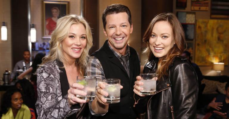 Christina Applegate, Sean Hayes, Olivia Wilde