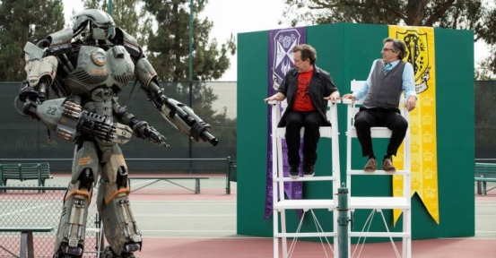 King of the Nerds: It's Robot Dodgeball Time!