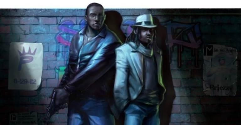Watson and Holmes. Art by Rick Leonardi.