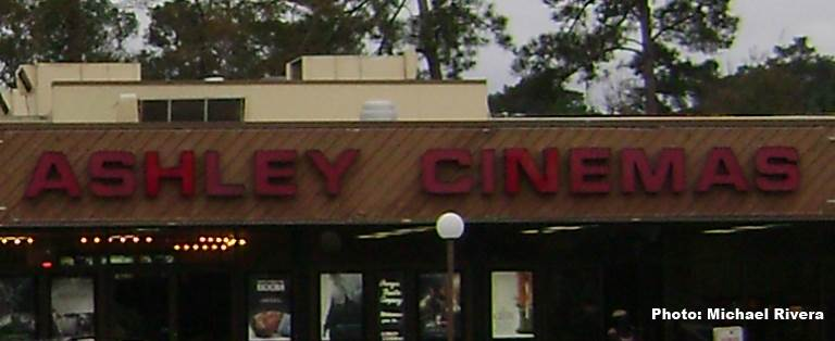 Ashley Cinemas, Valdosta in 2013. Photo by Michael Rivera