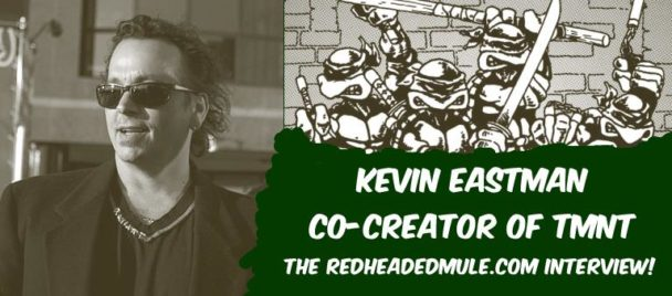 Kevin Eastman Interview at Sac Con 2014