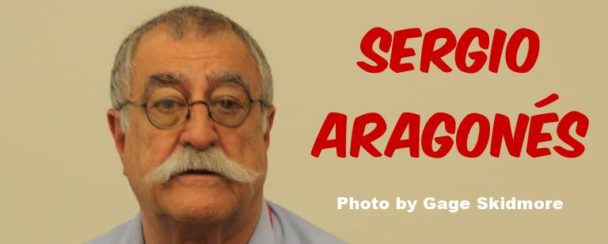 Sergio Aragones. Photo by Gage Skidmore