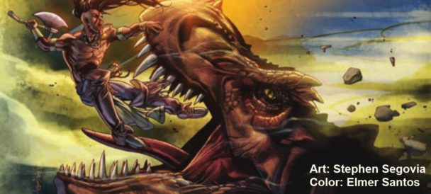 Dynamite's Turok Volume 1 Is Good Enough Revival
