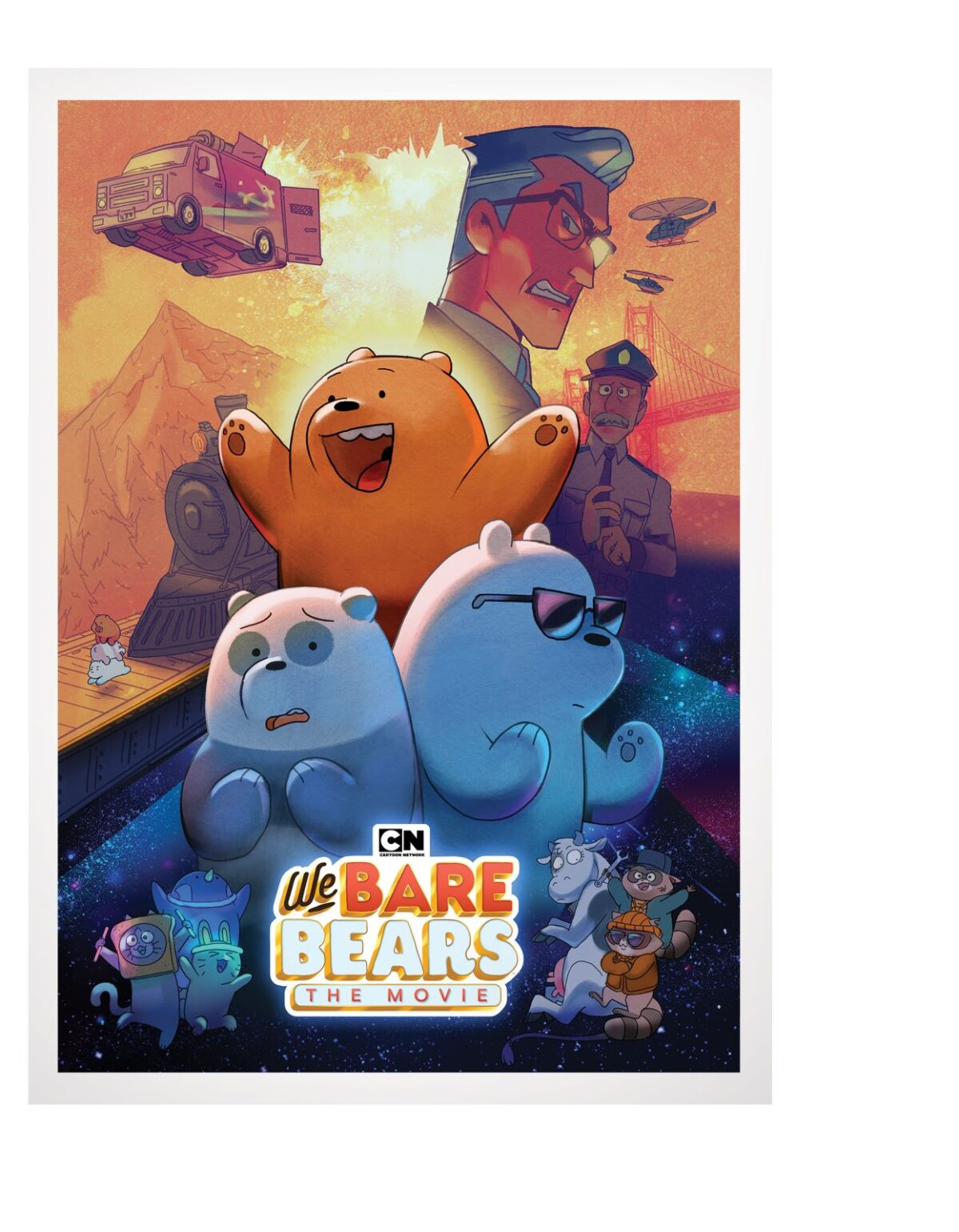 We Bare Bears Movie Coming to DVD 8 September, Cartoon Network 7 September