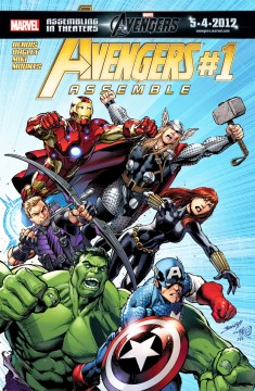 Avengers Assemble #1 Cover
