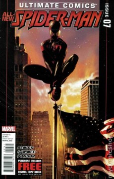 Ultimate Spider-Man #7 Cover