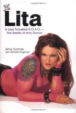 Lita WWE Book Cover