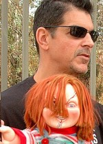Child's Play creator Don Mancini & Chucky