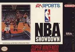 NBA Showdown 94 box art