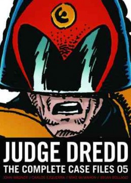 Judge Dredd Complete Case Files 05 cover
