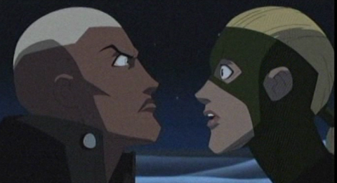 Aqualad meets Artemis