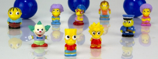 Michael even collects Simpsons Squinkies!