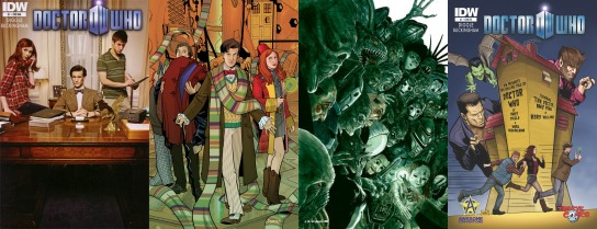 Almost as many variant covers as half the Doctor's regenerations!