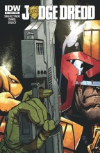 Judge dredd #1 cover by Zack Howard