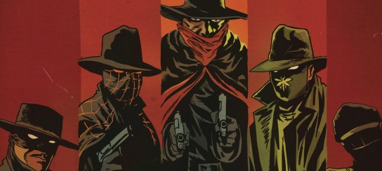 Zorro, The Spider, The Shadow, Green Hornet, & Kato from Francesco Francavella's variant cover