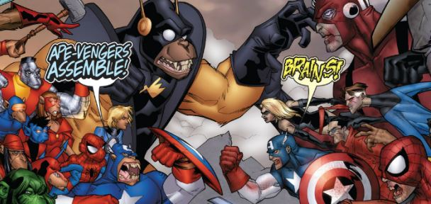 Rancid Reed Richards, Super Simians, & The Rots of the Marvel Zombies