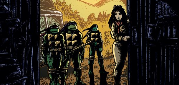 Teenage Mutant Ninja Turtles Comics Previews 18 December