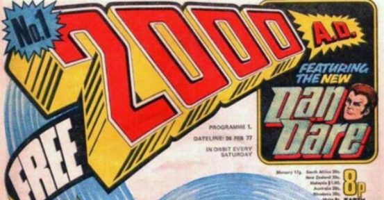 Happy 37th Birthday, 2000 AD