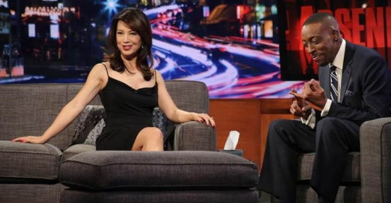 Ming-Na Wen of Agents of SHIELD Visits Arsenio