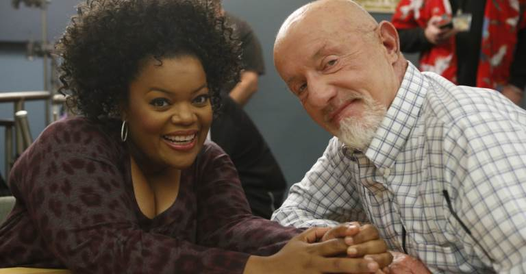 Community's Shirley and Professor Hickey