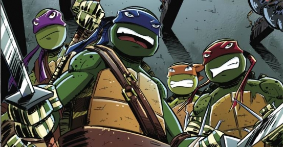 Ninja Turtles Comics Previews: IDW Ongoing #31, New Animated Adventures #8, Utrom Empire #2