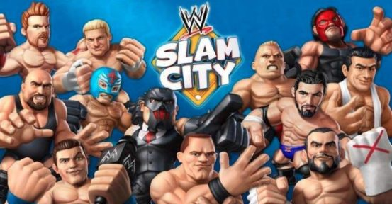 WWE Slam City Toons Enter the Arena