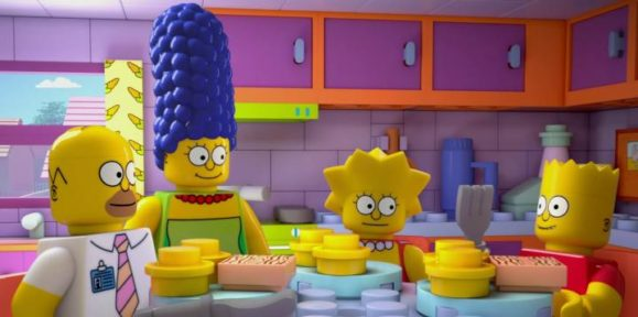 The Simpsons Lego Episode Is a Messy Novelty