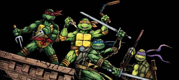 TMNT Visual History Book Contains Much Turtle Power