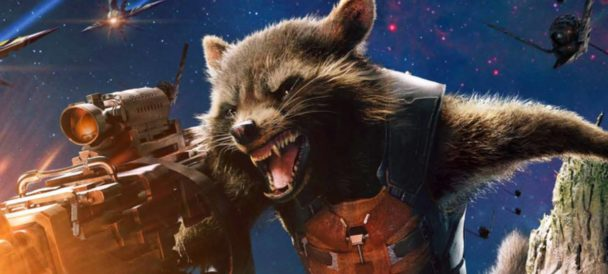 Smiling Rocket Raccoon Co-Creator Will Make Your Week
