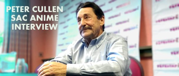 Peter Cullen at Sac Anime Winter 2015