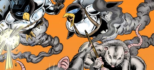 [PRESS RELEASE] FANBOY COMICS TO PUBLISH PENGUINS VS. POSSUMS #6